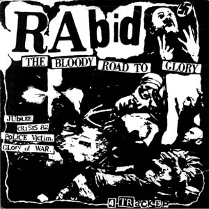 rabid - bloody road to glory - ep