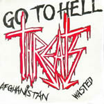Threats = Go to Hell 7 inch EP
